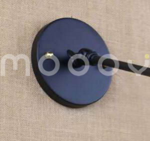 Simplicity Wall Sconce Matte Black Antique European Style Steel Finished Wall Lamp for Cafe Club pictures & photos