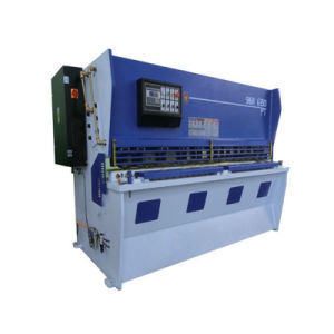 CNC Hydraulic Shearing Machine with E21s Control Sheet Metal Cutting pictures & photos