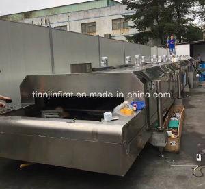 Shrimp Liquid Nitrogen Quick-Freezing/Cooling Machine pictures & photos
