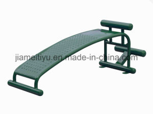 Nscc Outdoor Fitness Equipment WPC Single-Unit Sit up Trainer pictures & photos