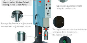 Ultrasonic Plastic Welding Equipment with Horn, transducer, Converter pictures & photos