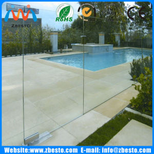 DIY Flat/Curved/Bent Leisure Swimming Pools Tempered Fencing Glass pictures & photos