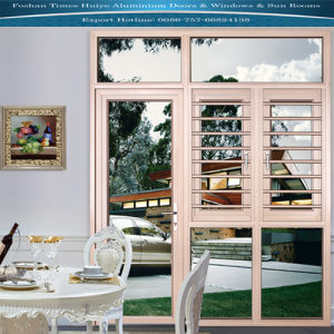 Aluminium Doors and Windows with Safe Guard (Fence) pictures & photos