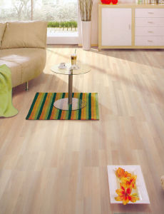 AC4 E1 CE High Quality HDF Laminated Floor U Groove pictures & photos
