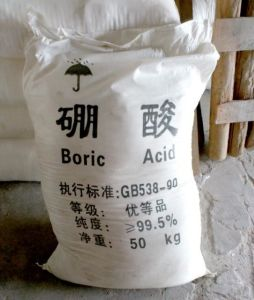 Boric Acid 10043-35-3 H3bo3 Orthoboric Acid Low Price pictures & photos