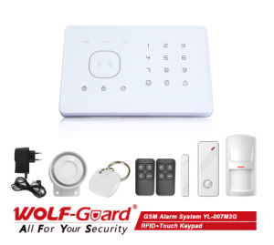 Intruder Alarm in System with RFID Card APP Touch Keypad Yl-007m2g pictures & photos
