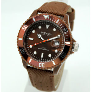 Intime Branded Men′s Watch Leather Watches