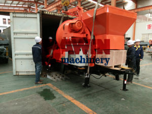 All-in-One Concrete Mixer and Pump Machine with Diesel Power pictures & photos