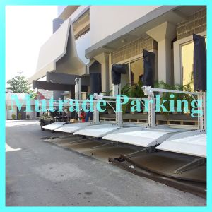 Mechanical 2 Floor Hydraulic Car Parking Stacker pictures & photos