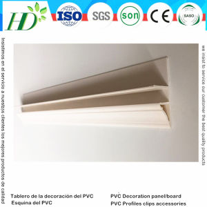 Hyde PVC Panel Accessories PVC Profiles (RN-77) pictures & photos