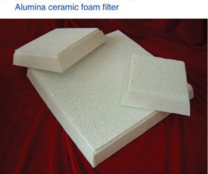 Alumina Ceramic Foam Filter for Molten Aluminum Filtration, Cfa, Foam Ceramic Filter