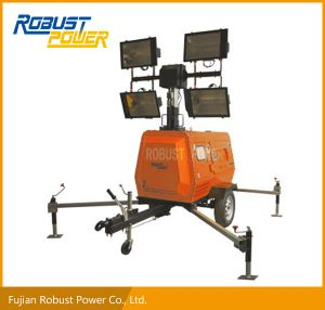 Kubota Portable Rplt-6800 Hydraulic Soundproof Mobile Light Tower pictures & photos