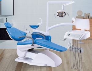 High Quality CE & ISO Dental Unit with Sensor LED Operation Light pictures & photos