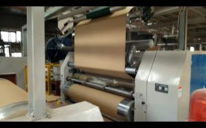 Low Noise Quality Single Face Paperboard Corrugating Machine pictures & photos