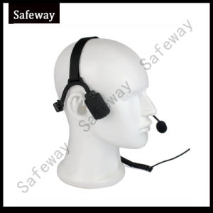 Bone Conduction Headset Headphone for Icom Walkie Talkie pictures & photos