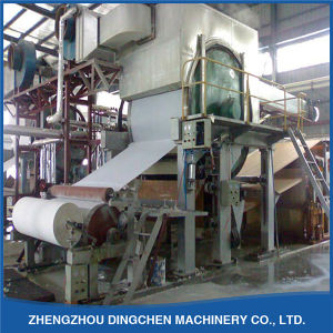 Toilet Paper Production Line by Recycling White Shavings, Waste Newspaper etc pictures & photos