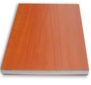 18mm Single Sided Maple Melamine Plywood for Sale! pictures & photos