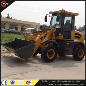 Zl10f CE Certificate Wheel Loader with Fork pictures & photos
