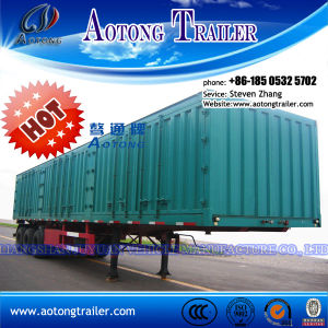 Attactive Price 3 Axle Livestock Transport Van Semi Trailer pictures & photos