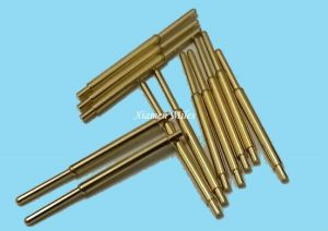 Pogo Pin Connector with Gold Plating pictures & photos