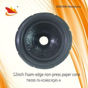 Car Subwoofer Speaker Parts 12inch Speaker Papar Cone - Speaker Cone pictures & photos