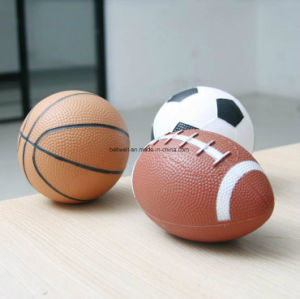 Three Balls Set Mini 5 Inch Soccer Rugby Basketball pictures & photos