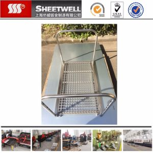 Custom Medical Trolley Sheet Metal Parts pictures & photos
