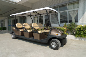 Cheap 8 People Electric Sightseeing Car for Sale pictures & photos
