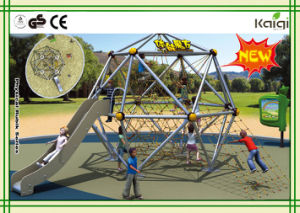 Kaiqi Group Outdoor Playground -- Physical Rubik with Slide pictures & photos