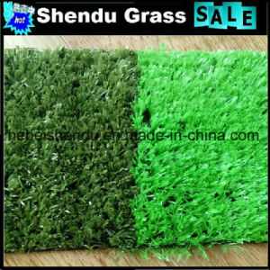Cheap Artificial Grass 10mm with 3/16inch Guage pictures & photos