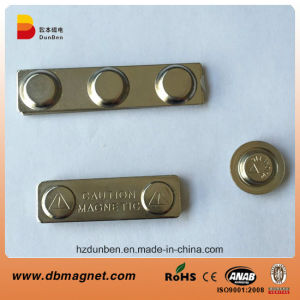 High Quality N35 Neodymium Magnetic Tag Name Badge Magnets pictures & photos