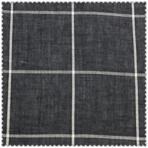 100% White & Black Cotton Checks of Shirts