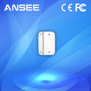 Smart Wireless Door Sensor for Alarm System, battery Supported pictures & photos