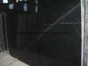 Natural China Black Nero Marquino Marble for Tile/Slab/Counter Top pictures & photos