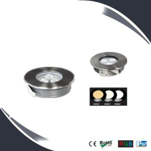 Stainless Steel 9W LED Inground&Underground Spot Light pictures & photos
