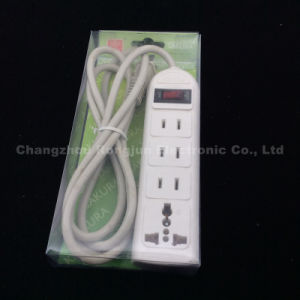 3m 5m with Cable and Switch ABS Mterial Extension Sockets (SO-003) pictures & photos