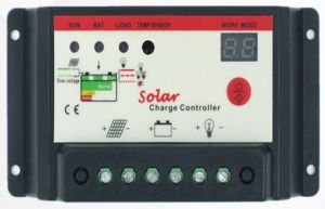 PWM 12V/24V Solar Panel Cell PV Charge Controller 20I-Bl pictures & photos