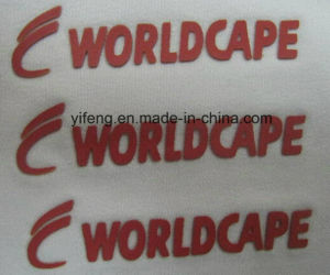 Customized Competitive 3D Thickness Press Printing Stickers for Clothing pictures & photos