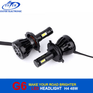 2017 Newest Next Generation Car LED Light Canbus G6 9600lm Car 6th LED Headlight Kit pictures & photos