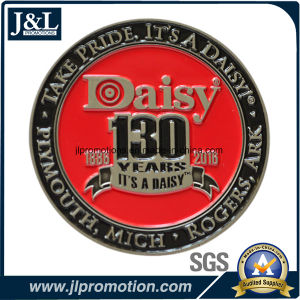 Die Casting Zinc Alloy Challeng Coin with Soft Enamel pictures & photos