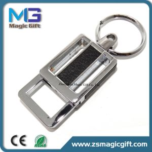 China Factory Keychain Maker Special Leather Metal Keychain pictures & photos