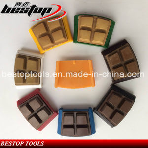 HTC Type Resin and Diamond Grinding Polishing Floor Pads pictures & photos