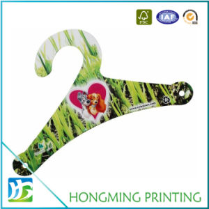 Full Color Printed Beautiful Garment Hanger pictures & photos