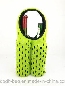 Hot Sale Neoprene 2 Bottle Beer Bottle Cooler Holder pictures & photos