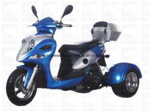 Zhenhua Ace 50cc Motorcycle Cdi Elec Disc EPA Stroke Trike pictures & photos