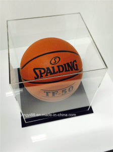 Top Selling Acrylic Retail Display Case for Basketball pictures & photos