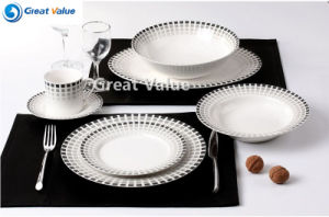 20PCS Good Quality Ceramic Plates Round pictures & photos