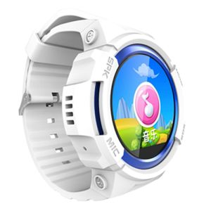 Ios Android GPS Smartwatch for Kids with SIM TF Card MP3 Player Music Voice Message Wechat Sos Step Counter pictures & photos