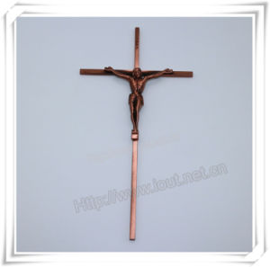 Christian Alloy Cross Religious Jesus Crucifix, Catholic Crucifix (IO-ca099) pictures & photos