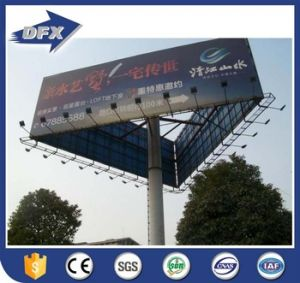 Prefabricated Hot Galvanized Steel Outdoor Billboard Structure pictures & photos